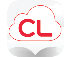 eBooks on cloudLibrary logo